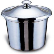 Smart Stainless Steel Soup Bucket with Top, 9.5 x 9.5 x 10 inch -- 1 each.