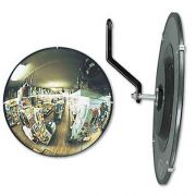 See All 160 degree Convex Security Mirror, 12 inch dia.