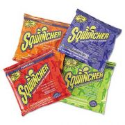 Sqwincher Powder Concentrate Electrolyte Drink Packet, Asst Flavors, 23.83oz, 32/Carton