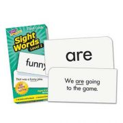TREND Skill Drill Flash Cards, 3 3/8 inch x 6 1/4 inch, Sight Words Set 1, 96/Set