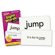 TREND Skill Drill Flash Cards, 3 3/8 inch x 6 1/4 inch, Sight Words Set 2, 97/Set