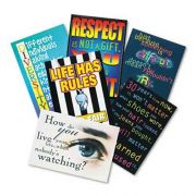 TREND  inchBuilding Character inch ARGUS Poster Combo Pack, 13 3/8 x 9, 6/Pack