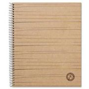 Universal One Sugarcane Based Notebook, College Rule, 11 x 8-1/2, White, 100 Sheets