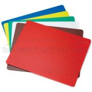 Tablecraft Polyethylene Flexible Cutting Mat - White Color, 18 x 24 inch -- 1 pack per case.