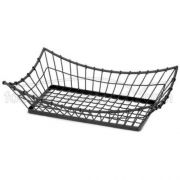 Tablecraft Grand Master Collection Rectangular Buffet Service Basket, 15 x 8 x 4 1/4 inch -- 1 each.