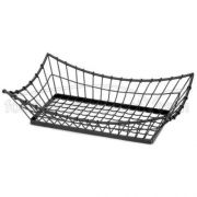 Tablecraft Grand Master Collection Rectangular Buffet Service Basket, 21 x 13 x 5 1/2 inch -- 1 each.
