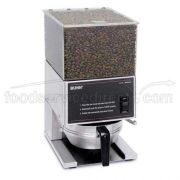 Bunn O Matic Lpg Low Profile Portion Control Grinder - One 6 Pound Hopper, High Torque Motor, 15.1 X 8.64 X 10 Inch, 120 Volts, 3 Amps, Cord Attached -- 1 Each