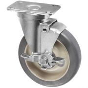 Winco Caster with Brake for DCA 6 Dish Caddy, 5 inch -- 1 each.
