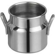 Winco Stainless Steel Mini Milk Can, 2 inch Dia x 5 inch Height -- 12 per case.