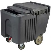 Winco Insulated Ice Caddy with Sliding Lid, 125 Pound Capacity -- 1 each.