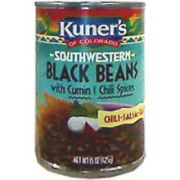 Kuners Beans, Southwestern Black with Cumin and Chili Spices, 15 ounce -- 12 per case