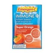 Emergen C Immune Plus Super Orange Fizzy Drink Mix, 10 Count -- 36 per case