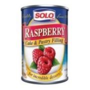 Solo Pastry Filling Raspberry, 12.5 ounce  -- 12 per case