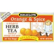Orange & Spice Herb Tea - 20 bags -- 6 per case.
