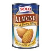 Solo Pastry Filling Almond, 12.5 ounce  -- 12 per case