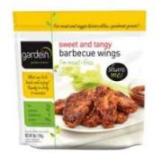 Gardein Sweet And Tangy Barbecue Chicken Wing, 9 Ounce -- 8 per case.