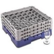 Cambro 25 Compartment Full Size Camrack Only, Brown, 19 3/4 x 19 3/4 x 10 1/2 inch -- 1 each.