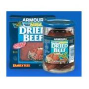 Pinnacle Foods Armour Star Display Sliced Dried Beef, 2.25 Ounce -- 72 per case.