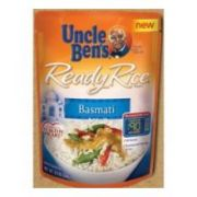 Uncle Bens Ready Rice Basmati Rice, 8.5 Ounce -- 12 per case.