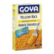 Goya Spanish Style Instant Yellow Rice, 6 Ounce -- 24 per case.