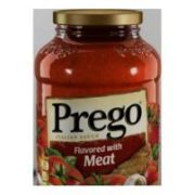 Prego Flavored Italian Sauce with Meat, 67 Ounce -- 6 per case.
