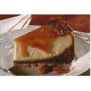 Lawlers Desserts Colossal Caramel Fudge Cheesecake, 108 Ounce -- 4 per case.