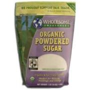 Wholesome Sweeteners Fair Trade Organic Powdered Sugar, 1 Pound -- 6 per case
