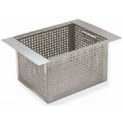 Advance Tabco Perforated Basket Only, 10 x 14 x 10 inch -- 1 each.