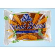 Ne-Mos Carrot Cake Bread, 4 Ounce -- 12 per case.