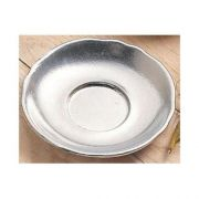 Black Speckled Bon Chef Plate/Underliner, 6 5/8 inch Diameter -- 12 per case.