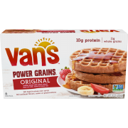 Vans International Foods Natural Power Grain Waffle, 9 Ounce -- 12 per case