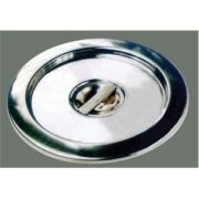 Winco Stainless Steel Cover Only - for 6 Quart Bain Marie -- 1 each.