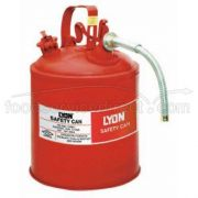 Lyon Terne Plate Steel Oily Waste Can Only, 8 Gallon -- 1 each.