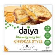 Daiya Cheddar Style Cheese Slice, 7.8 Ounce -- 8 per case