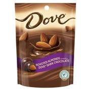 Dove Roasted Almonds Covered in Dark Chocolate, 5.5 Ounce -- 8 per case.