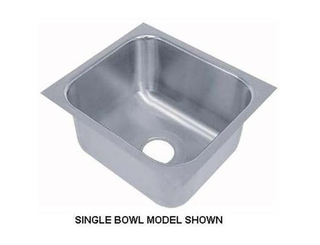 Smart Series Stainless Steel Undermount Sink Single Bowl Model Size : 18 X 24 X 12 Inch -- 1 each.