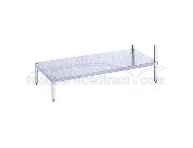 Stainless Steel Undershelves 78 inch Length For Dishtable -- 1 each.