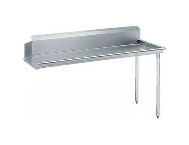 Standard S70 Series Stainless Steel Clean Island 8 Feet Dishtable Right -- 1 each.