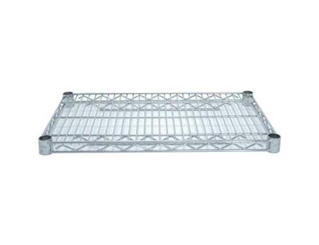 Standard Epoxy Chrome Wire Shelf, 18 x 36 inch -- 1 each.