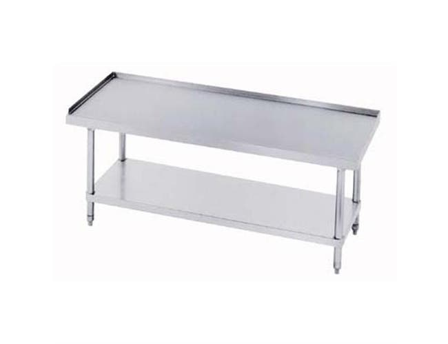 Stainless Steel Economy Equipment Stand, 24 x 72 inch -- 1 each.