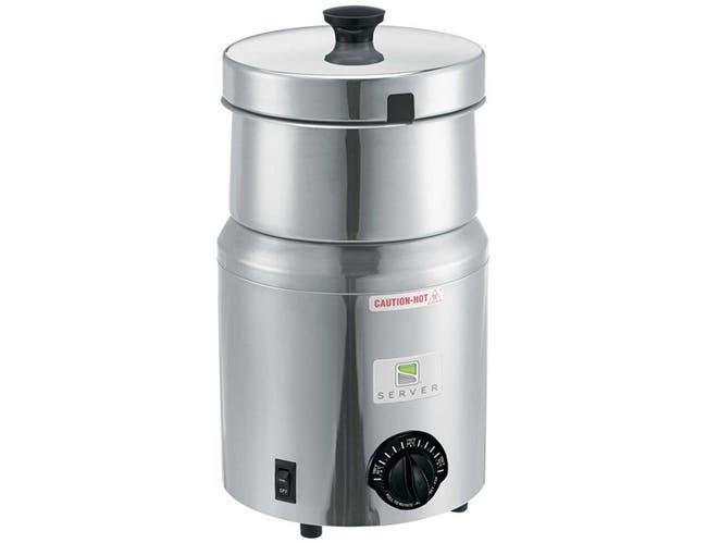Server FS-4 Plus Soup Warmer with Euro Plug, 4.7 Liter -- 1 each