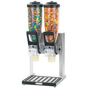 Server Double Countertop Dry Food and Candy Dispenser with Stand, 2 Liter -- 1 each