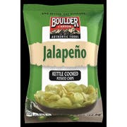 Boulder Canyon Jalapeno Kettle Cooked Potato Chips, 1.5 Ounce -- 55 per case.