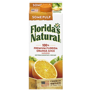 Farmers Natural Not From Concentrate Orange Juice with Pulp, 59 Fluid Ounce -- 8 per case.