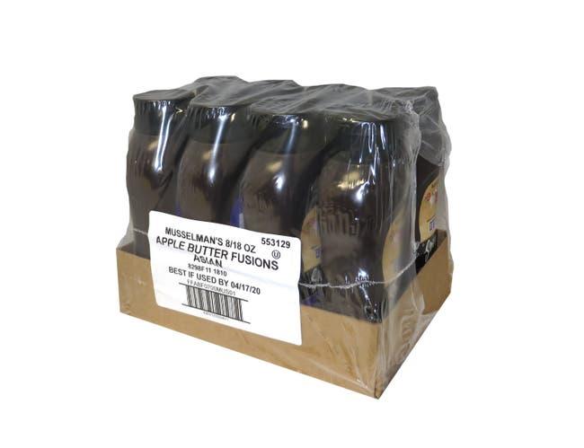 Musselmans Asian Apple Butter Fusions, 18 Ounce -- 8 per case.