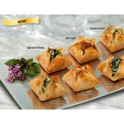 Athens Spinach and Cheese Fillo Blossom Appetizer - 25 per pack -- 4 packs per case.