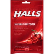 Halls Plus Cherry - 25 count bag, 48 per case