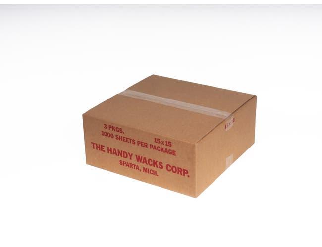 15X15 Flat Deli Tissue -- 3 case -- 1000 count