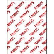 Handy Wacks Renos Printed Interfolded Deli Tissue, 12 x 10.75 inch - 500 per pack -- 12 packs per case.
