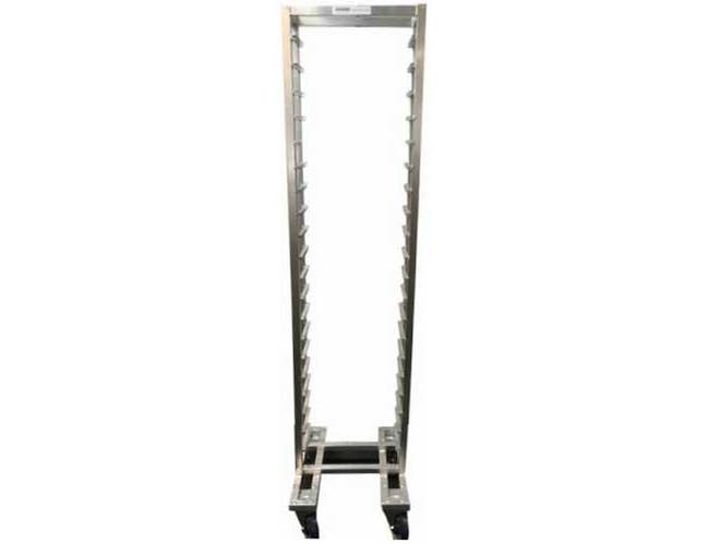 Channel Manufacturing Knock Down Series 2 inch Spacing Reach In Aluminum Bun Pan Rack, 51 x 20.5 x 23 inch -- 1 each.